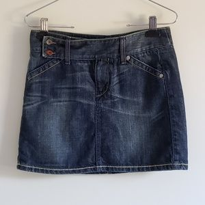 United Colors of Benetton Jean Skirt